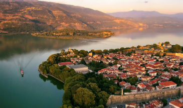 Ioannina old town and castle